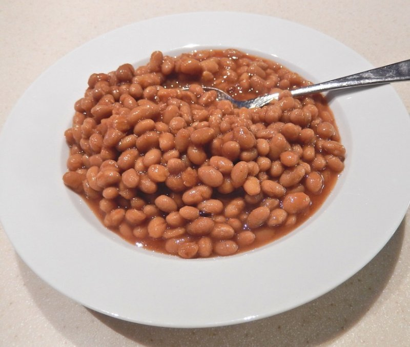 Baked Beans in Maple Syrup
