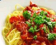 recettes secr tes manoir du spaghetti sauce spaghetti. Black Bedroom Furniture Sets. Home Design Ideas